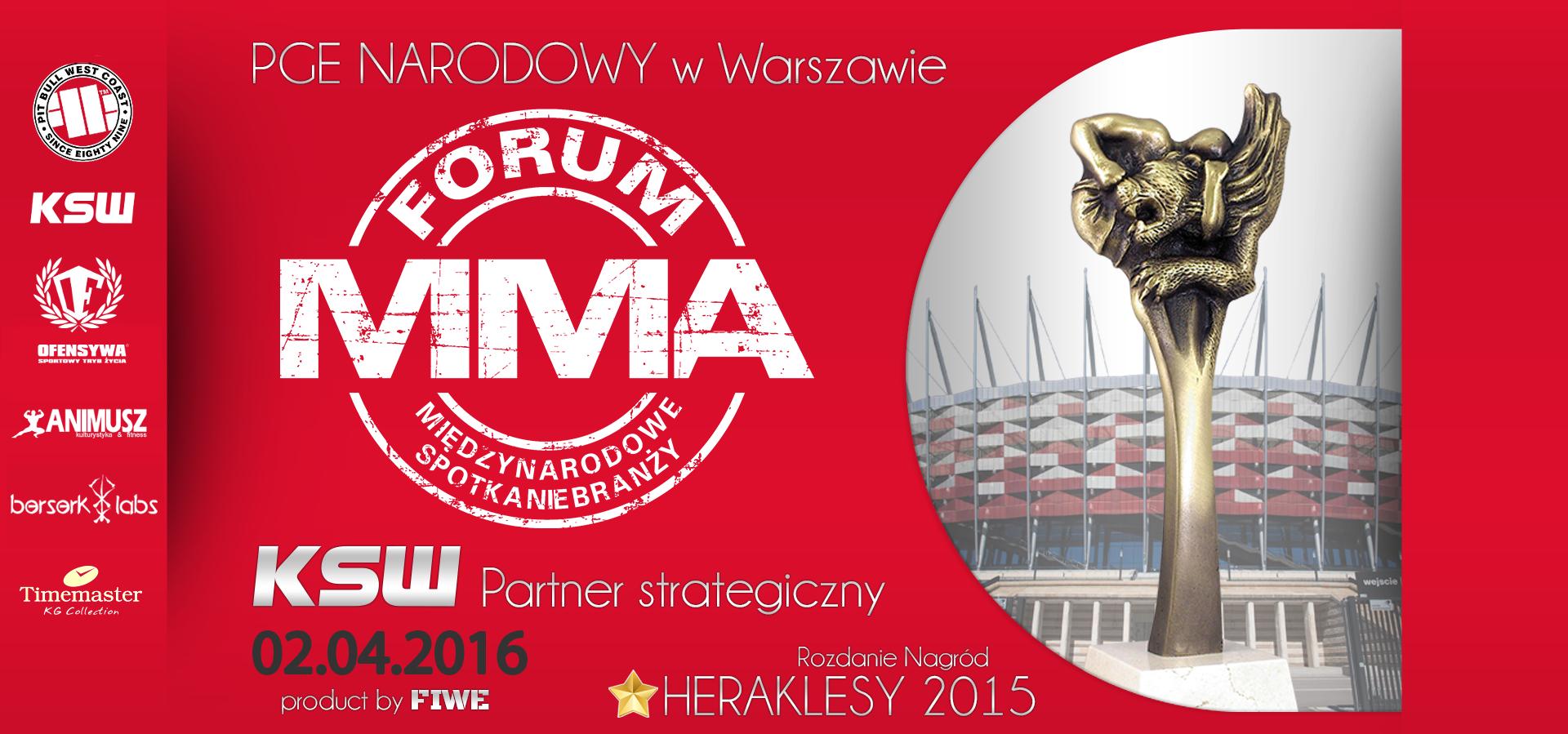 Forum MMA na Stadionie Narodowym