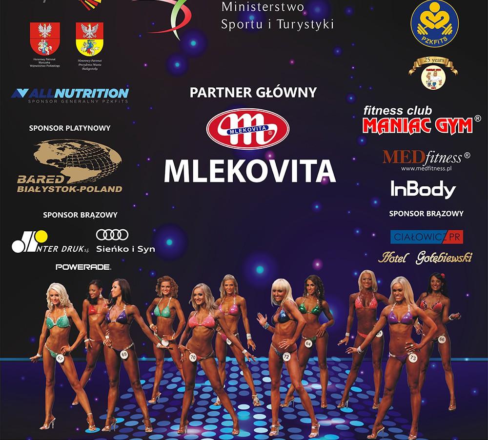 Nowi sponsorzy i współorganizatorzy MŚ w Fitness – Białystok 2016