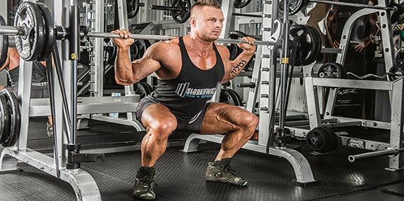 Trenuj z mistrzem! Hubert Kulczyński – trening nóg